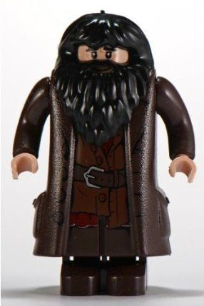 Hagrid - LEGO Harry Potter Minifigure 2010 version by LEGO. $8.99. Genuine LEGO Harry Potter Minifigure - Rubeus Hagrid!. WARNING: CHOKING HAZARD-SMALL PARTS & SMALL BALLS. NOT FOR CHILDREN UNDER 3 YEARS.. Stands approximately 2 inches tall.. What Harry Potter collection would be complete without this Hagrid minifigure?