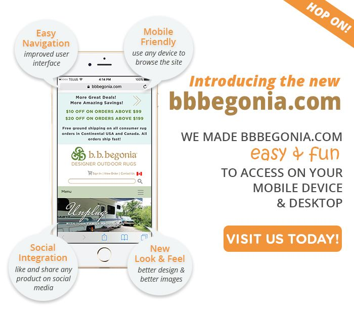 Check out our new website http://bbbegonia.com  with its fresh design and navigation.