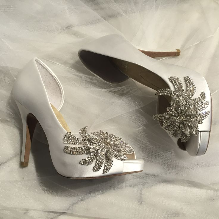 The Serendipity Wedding Shoe Adorned With Royale Treatment A Left Bank Bridal Exclusive