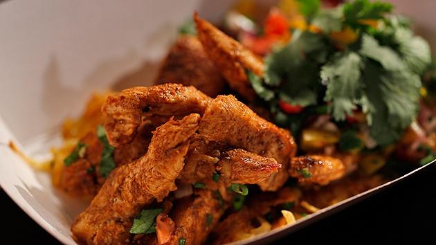 MKR4 Recipe - Spiced Chicken with Pumpkin Rösti