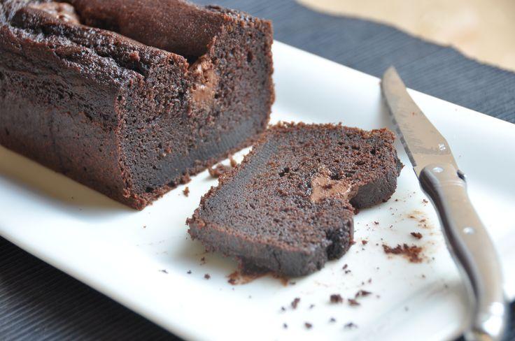 un plumcake sofficissimo al cioccolato e Nutella!!! Che coccola!