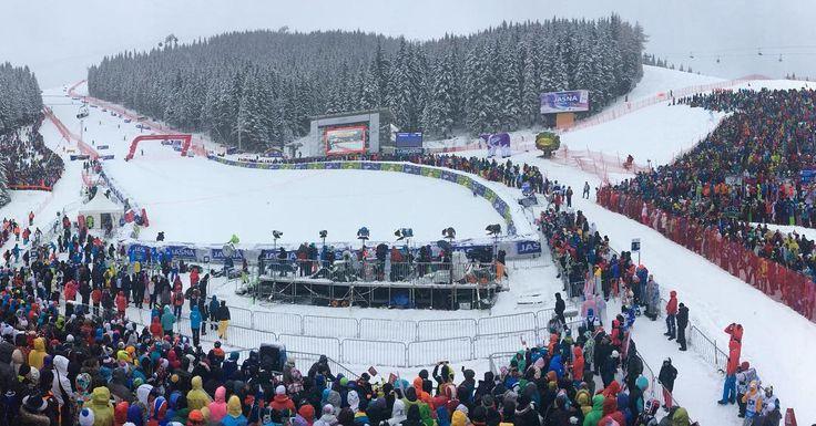"""#jasna #worldcupjasna #jasnanizketatry #snow #winter #fis #finish #area @skiworldcupjasna @fisalpine @skialpinwomen"""