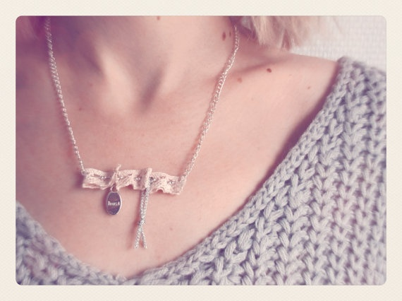 Trust Necklace by SKRIN on Etsy, €15.00