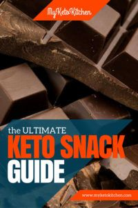 ULTIMATE Keto Snacks List for Your Ketogenic Diet - to Buy or Make