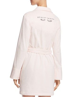 kate spade new york French Terry Robe | Bloomingdale's