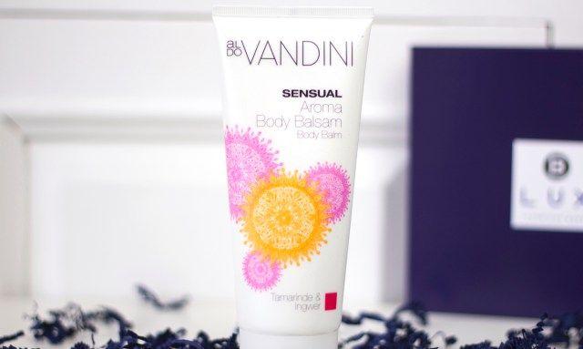 Ik kick off met de Aldo Vandini Sensual Aroma Body Balm (full size) €5,95. Dit merk ken ik, hiervan heb ik drie handcrèmes die in een aantal boxen terug zaten. En die handcrèmes zijn fijn! Deze ook denk ik.