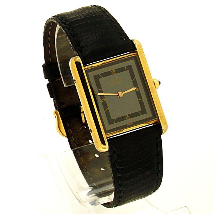 Cartier Roadster uit 2007. Refnr: 2675 - article number: CA0367 #watch #cartier #cartierwatches | cartier watches mens | cartier watch for men | mens jewelry | vintage watches | vintage horloges | horloges heren | SpiegelgrachtJuweliers.com