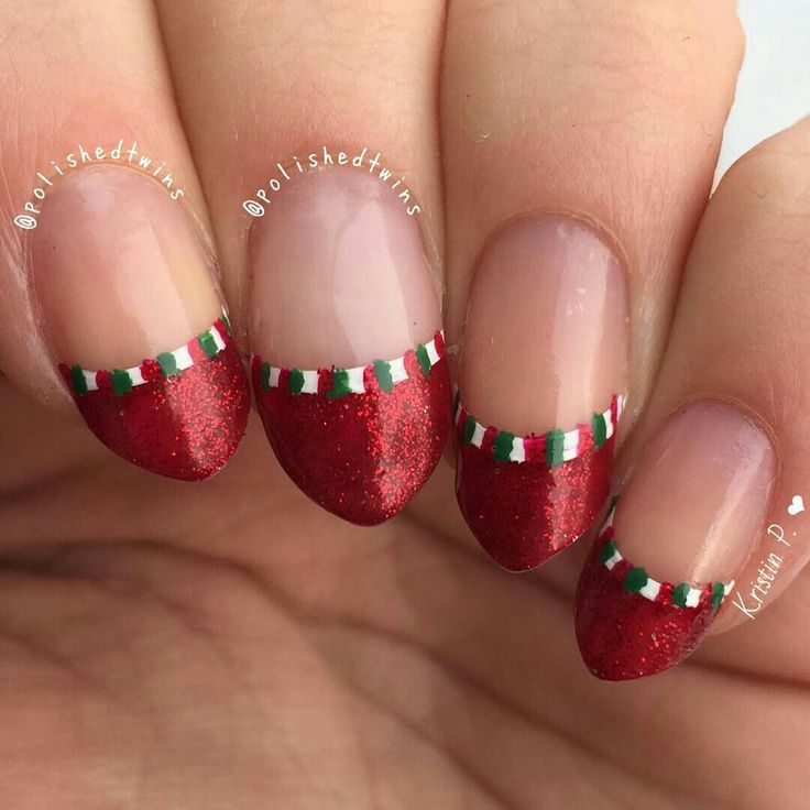 107 best ::: Christmas Nail Designs ::: images on Pinterest ...