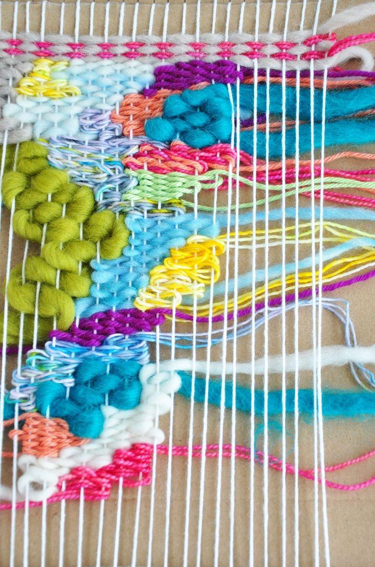 Weaving Techniques || Organic (Doodle) Weaving