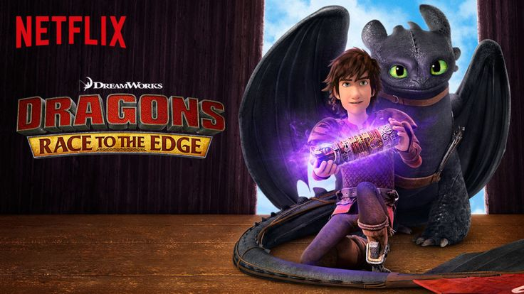Reboot with Netflix and Race to the Edge with Dragons #StreamTeam #Throwback