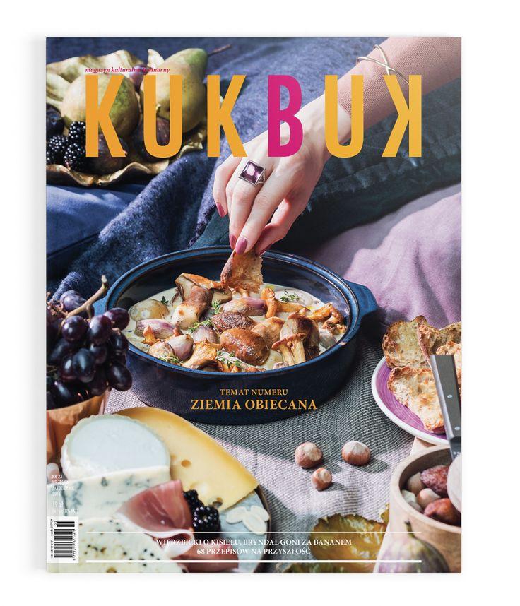 Kukbuk cover, photo: dinnershow studio  - Ziemia Obiecana