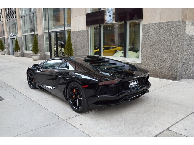 For Sale: 2012 Lamborghini Aventador In Chicago, Illinois. Price: $438,900.  This Lambo Rides On Alloy Wheels 19 Inches Front, 20 Inches Rear.