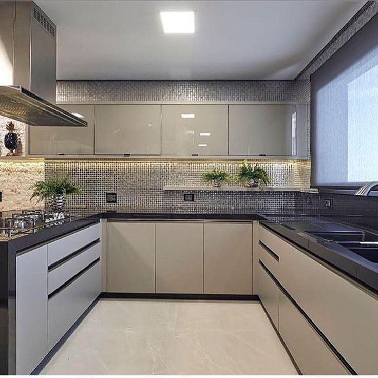 """7,262 curtidas, 70 comentários - Decore seu estilo (@decoreseuestilo) no Instagram: """"Show de cozinha!! By @arqmbaptista #kitchen #cozinha #kitchendesign #kitchendecor #cuisine…"""""""