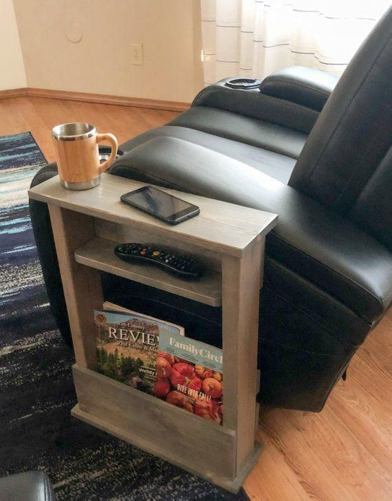 Is Your Living Room Tight On Space Or Want To Add Some Extra Storage And A Table To Your Favorite Ch Table Decor Living Room Living Room Table Living Room Diy