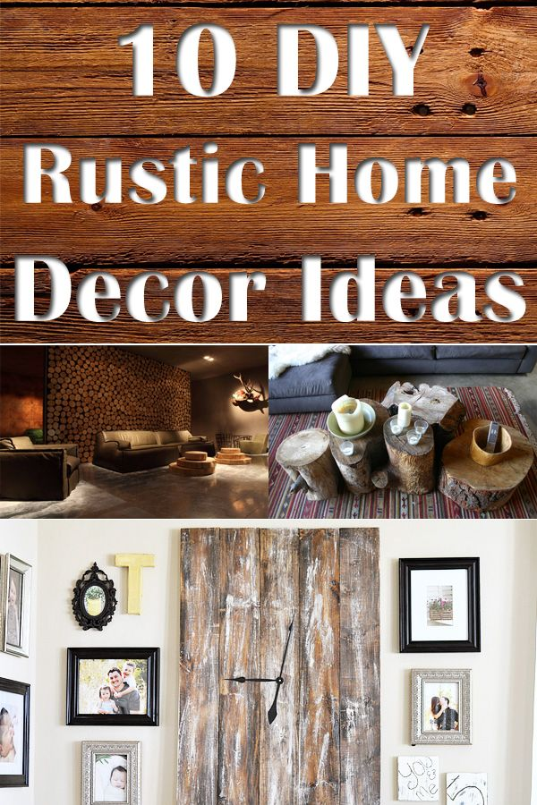 10 DIY Rustic Home Decor Ideas [ SpecialtyDoors.com ] #rustic #hardware #slidingdoor