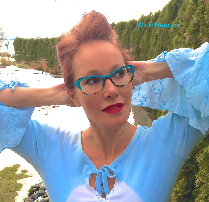 Frame of the Week - Vitalic by Boz Eyewear. Spring Ahead, with a Super vibrant fusion of textured turquoise metal to the highest quality Mazzucchelli italian acetate. #Art4Eyes #Kelowna #Frames
