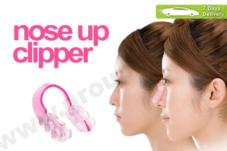 Hidung mancung alami dengan alat pemancung hidung khusus Nose Up Clipper hanya Rp 9.999 http://www.groupbeli.com/view.php?id=192