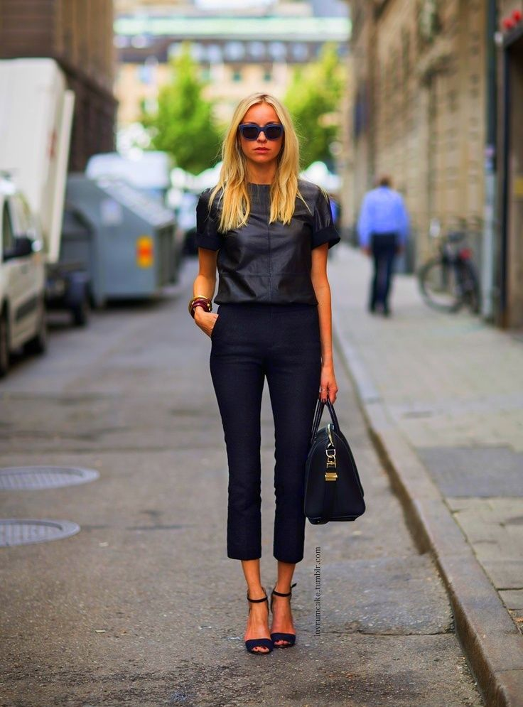17 Best images about Capris outfits on Pinterest | Black blazers ...