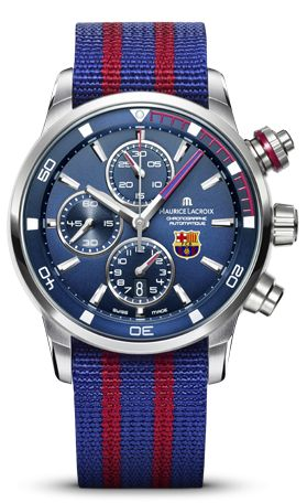 Barcelona FC Fan? Maurice Lacroix has developed a watch for you! Made in Swiss.