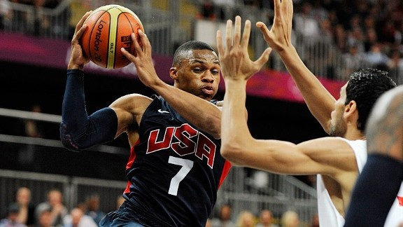 Second Effort -   Team USA led Tunisia by just 13 at halftime Tuesday. But behind its second unit, it took control in the third quarter of a 110-63 win