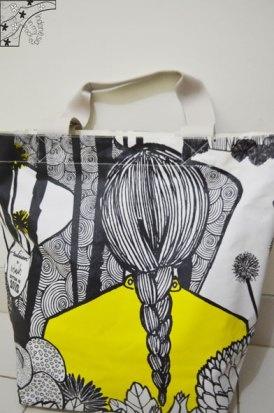 My lovely Tulisan bawang putih bag.