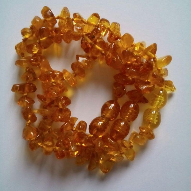 Bracelet Bébé ambre miel de la Baltique avec fermoir vissable : Autres accessoires bijoux par espritszen