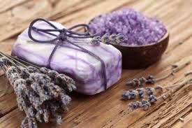 Lavender:  Lavender is calming and soothing herb with great aroma. Find out how to make easy Homemade #Lavender Soap.