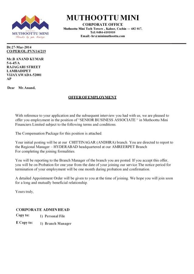 company offer letter apology templates free word pdf format download