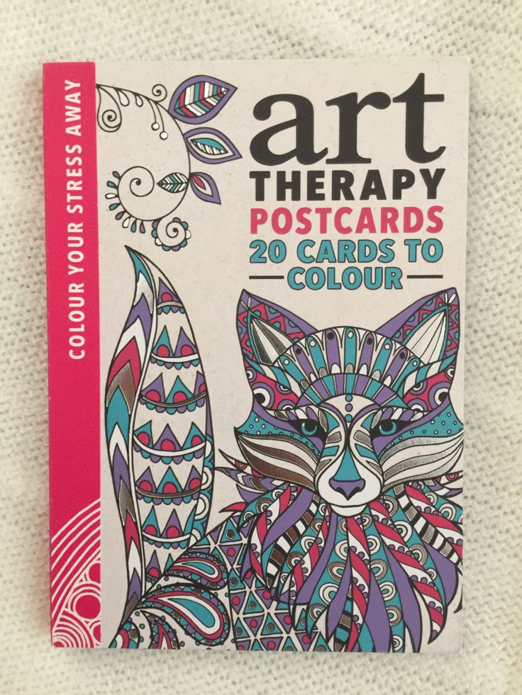 Art Therapy Postcards Adult ColoringColoring BooksColouringArt TherapyBook ReviewsPostcards