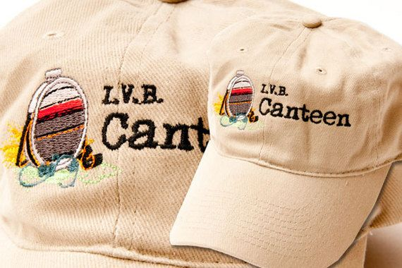 "Black Duck Embroidery, Albuquerque, N.M., created this shirt for a brewery, emulating a photographically reproduced image of a wool-sided canteen. ""I.V.B. Canteen"" was produced using a Tajima embroidery machine and Isacord thread. (505) 884-3656; www.blackduckonline.com. - See more at: http://impressions.issshows.com/digital-decorating-designs/Digitizing-Artistry-1239.shtml#3"