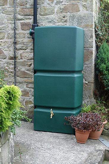 green tank 1: Gardens Ideas, Water Butt, Green Tanks