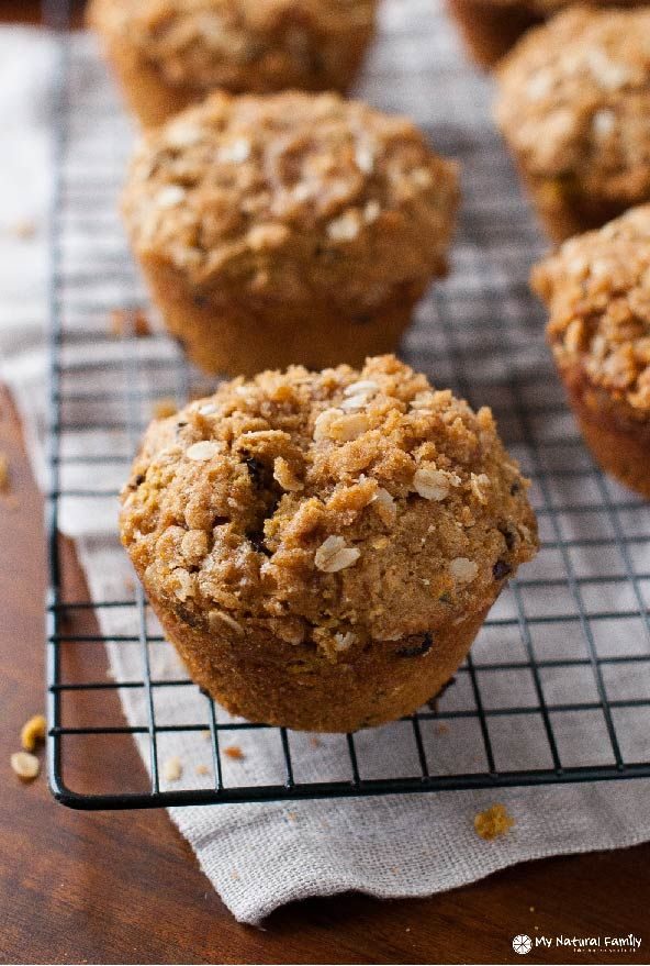 Quinoa Pumpkin Strusel Muffins