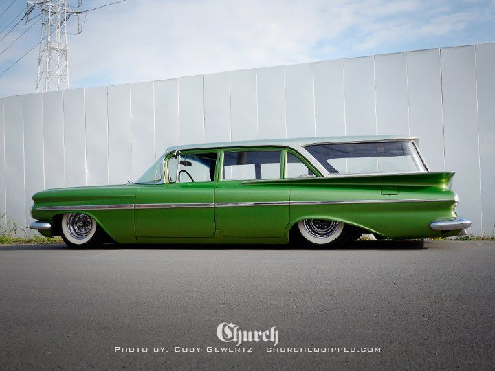 1959 Chevy Wagon Coffee Time Cruising Pinterest Station