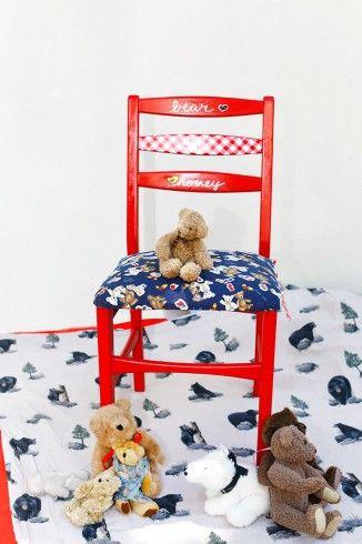 Dejó los papeleos y las oficinas hace un tiempo. Esta amante de los animales hoy decora las habitaciones y dedica su vida a los niños.  #silla: $75.000