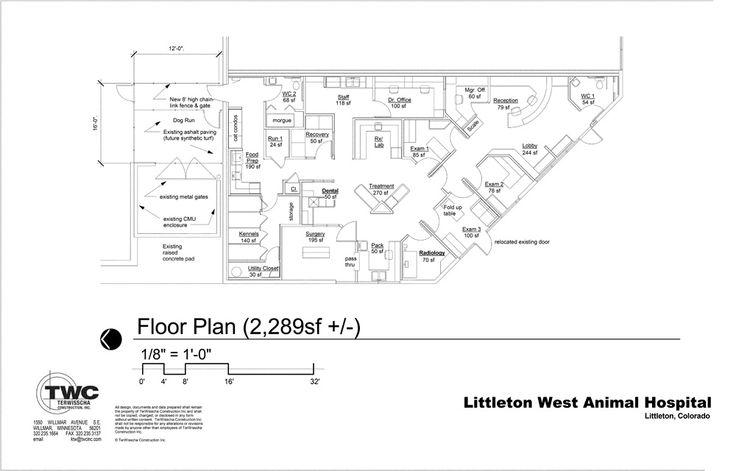33 Best Floor Plans Veterinary Hospital Design Images On Pinterest