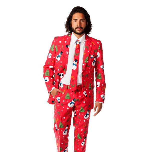 Ugly Christmas Suits Are The New Ugly Christmas Sweaters