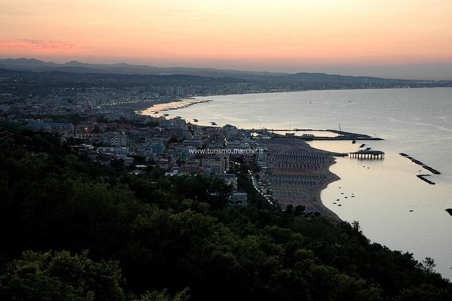 Gabicce Mare coast, (PU) Marche - Italy #mare #vacanze #spiaggia