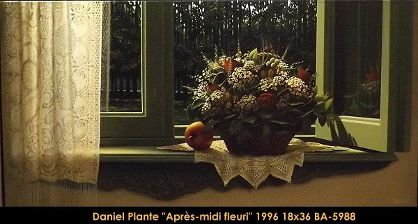 Original acrylic painting on canevas by Daniel Plante #danielplante #art #fineart #figurativeart #artist #canadianartist #quebecartist #flowers #stillife #hyperrealism #originalpainting #acrylicpainting #balcondart #multiartltee