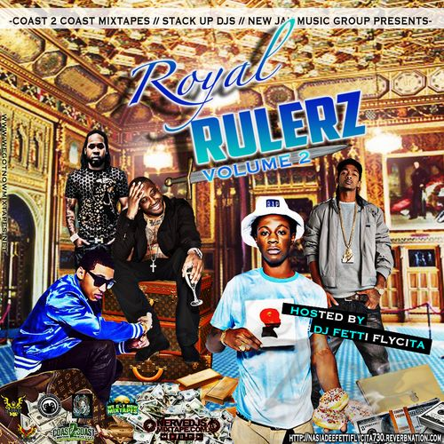 Royal Rulerz are Emcee's with barz reppin that hustla becoming crowned. Migos, Kirko Bangz, 2 Chainz, Rick Ross, Wale , Lorde, Maino,Joey Badass,Lox,Nasia D, Blaze of Stack up, J Ron of Stack Up, Skooly, Kendrick Lamar,Imaginary Dragons