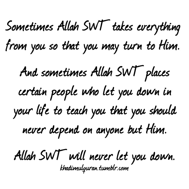 Subhanallah! I love this with all my heart..