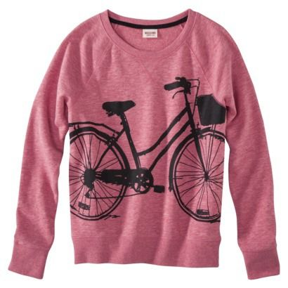 Mossimo Supply Co. Junior's Graphic Sweatshirt - Assorted Colors $13.98