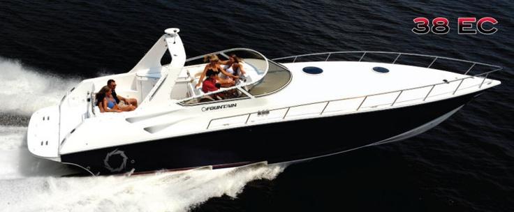 Fountain Boats 38 Express Cruiser - Perfect!
