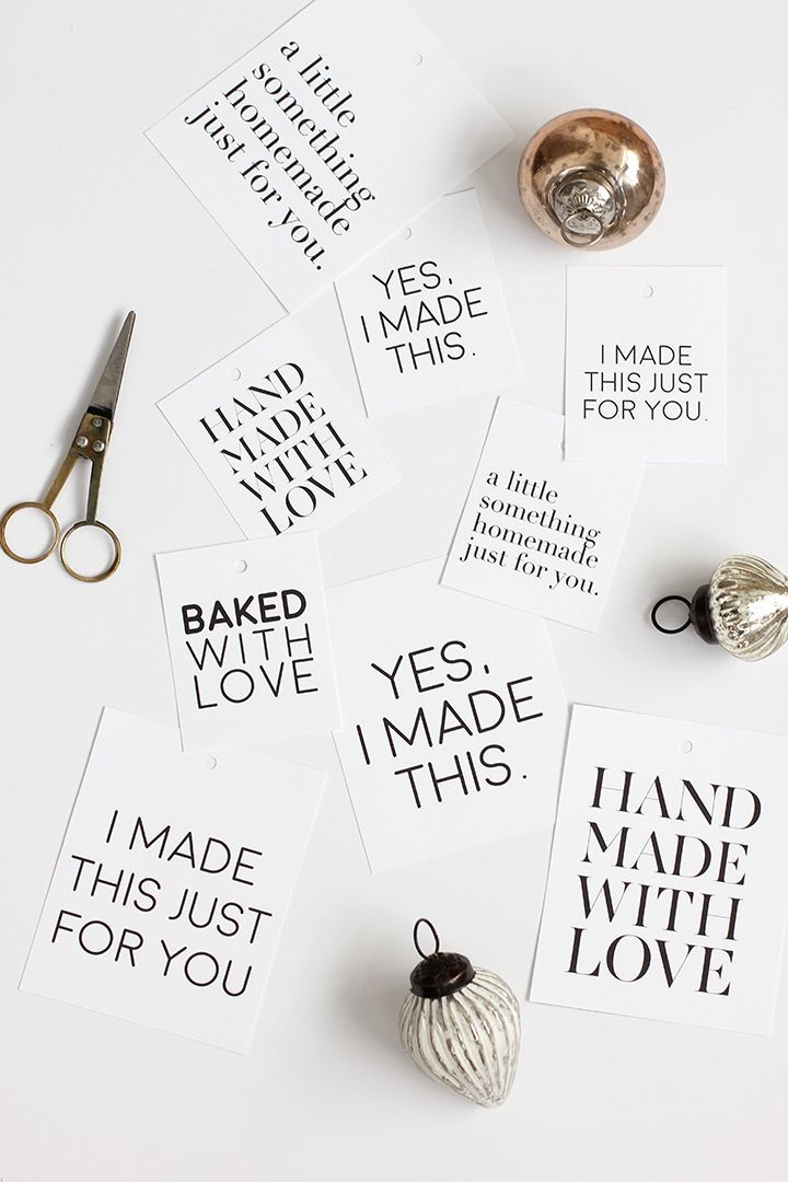 We love a good handmade holiday gift. Don't you? Some of our favorites are simple to make and do not require tons of time. Melissa designed these fabulous handmade gift tag printable that you can adorn your handmade holiday gifts with. Head over to minted's blog, Julep for the free printable. I personally love the …