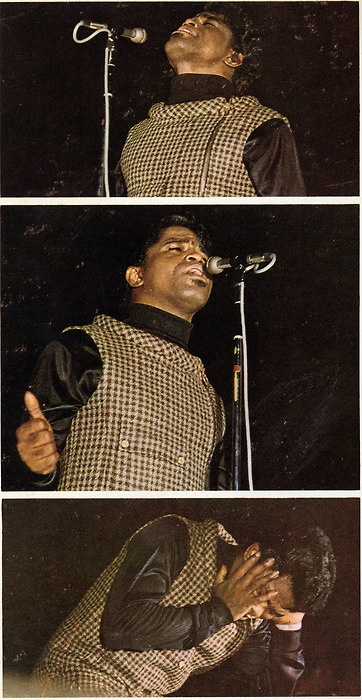 James Brown ( I hear I Feel Good every time I look at this pic)
