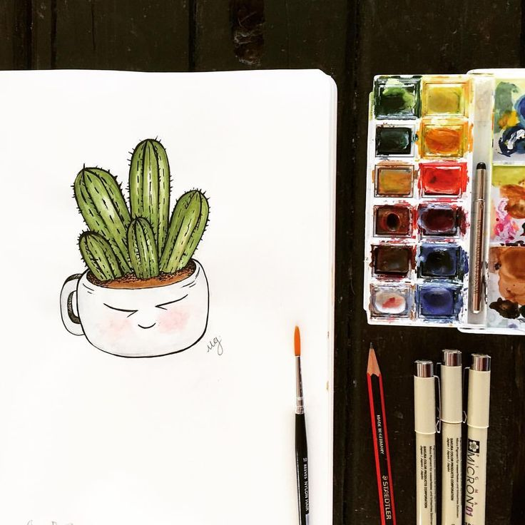 Oh look, a happy cactus for a happy friday!  Welcome to my paper stories, I'll be posting all my doodles, artwork and illustrations here!