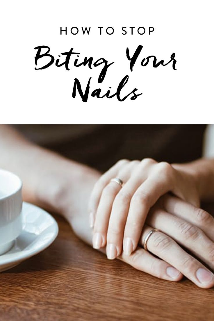 Breaking up with a bad habit is hard to do and nail-biting is no different.  Once we employed these seven tips, our hands went from looking like those of a nervous 12-year-old to those of an actual grown-up with a 401(k) and a mortgage. Give it a whirl.