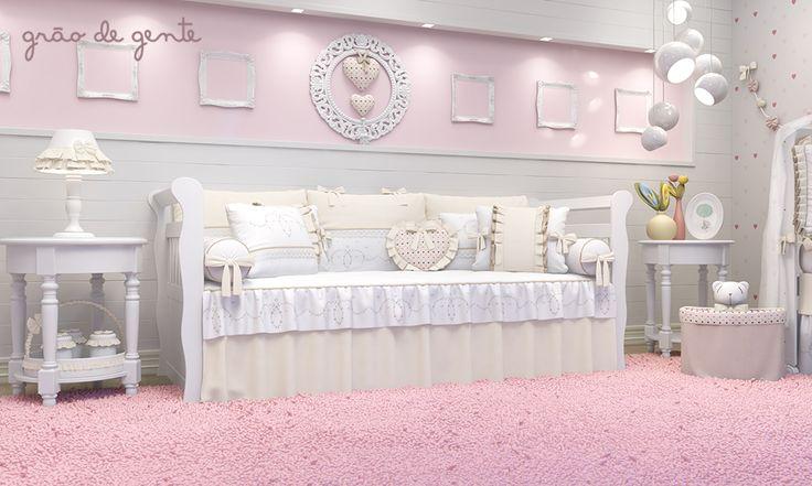 A cama babá é puro luxo! No quarto de bebê, é preciso montar um cantinho para as mamães, papais e outras pessoas poderem ficar sempre por perto e com muito conforto, principalmente nas visitinhas noturnas!
