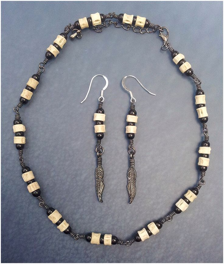 Black Bone Choker & Earrings Set by washdupwondrs on Etsy https://www.etsy.com/listing/236358183/black-bone-choker-earrings-set