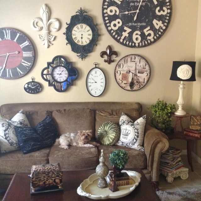 Best Just Love Clocks Images On Pinterest Wall Of Clocks