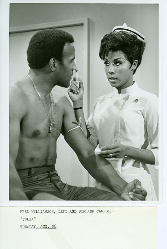 Diahann Carroll Fred Williamson Hunky Julia NBC Photo